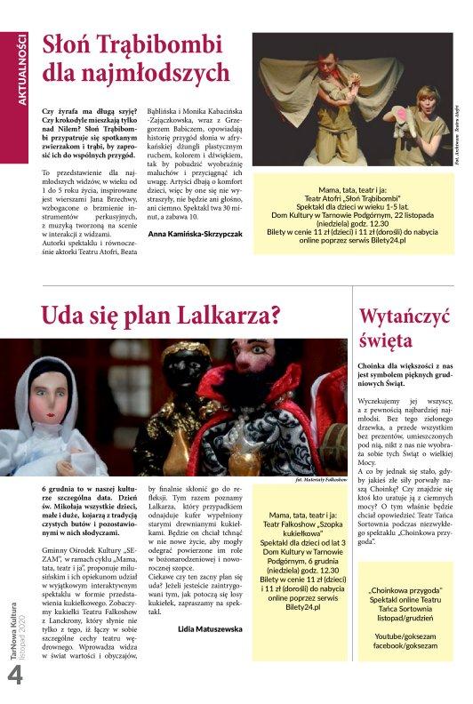 TarNowa Kultura 11/2020 strona 4
