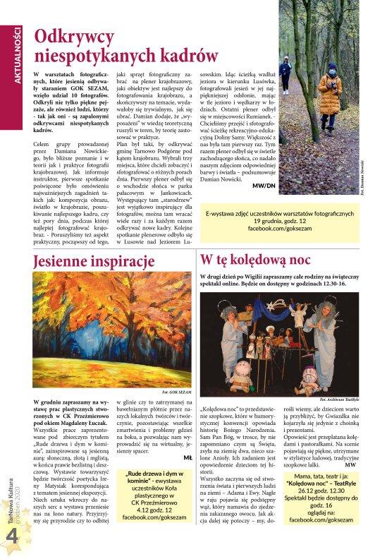 TarNowa Kultura 12/2020 strona 4
