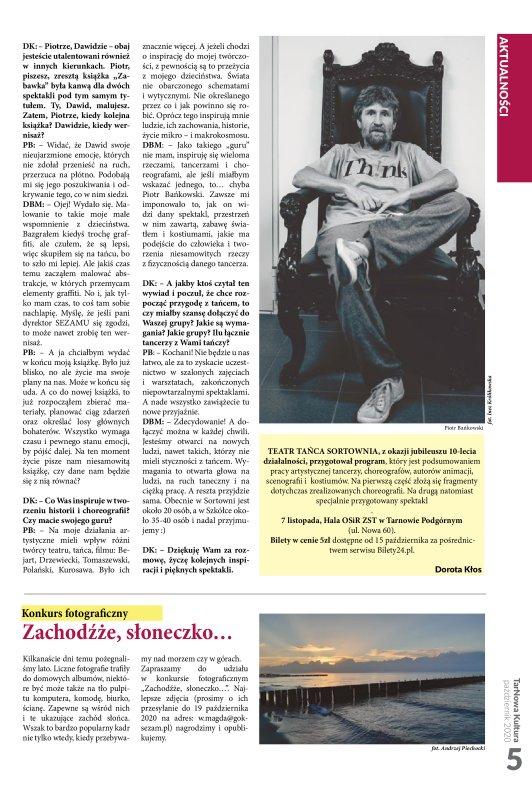 TarNowa Kultura 10/2020 strona 5