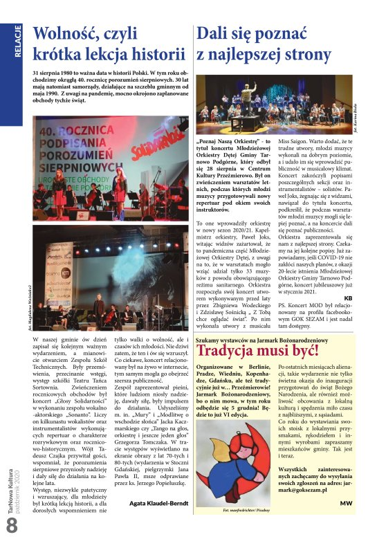 TarNowa Kultura 10/2020 strona 8