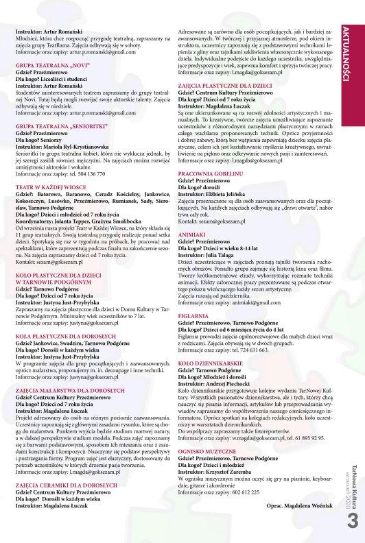 TarNowa Kultura 09/2020 strona 3