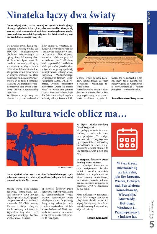 TarNowa Kultura 6/2020 strona 5