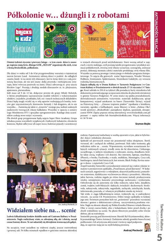 TarNowa Kultura 1/2020 strona 5