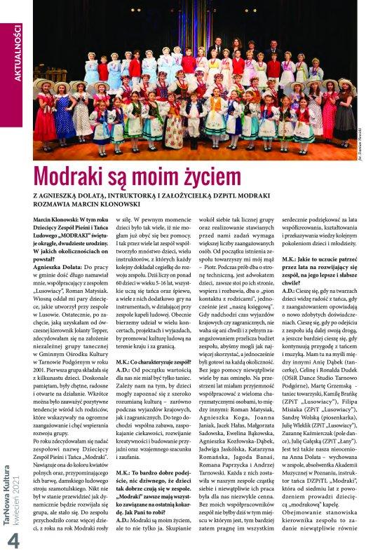 TarNowa Kultura 4/2021 strona 4