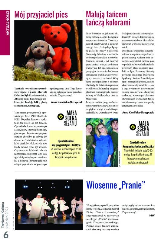 TarNowa Kultura 4/2021 strona 6