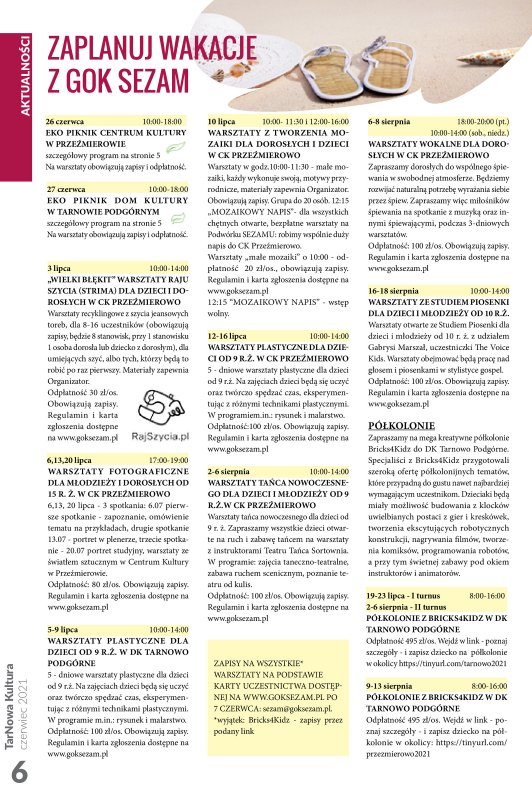 TarNowa Kultura 6/2021 strona 6