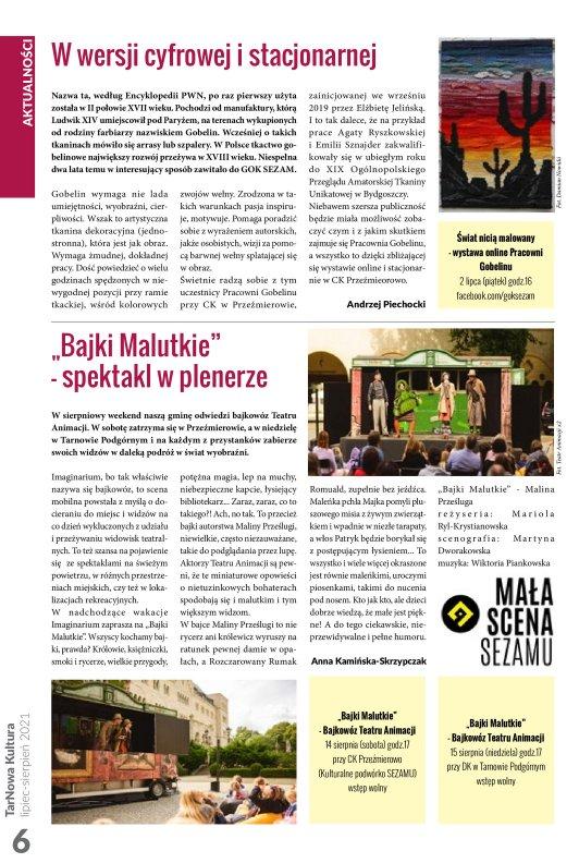 TarNowa Kultura 7-8/2021 strona 6