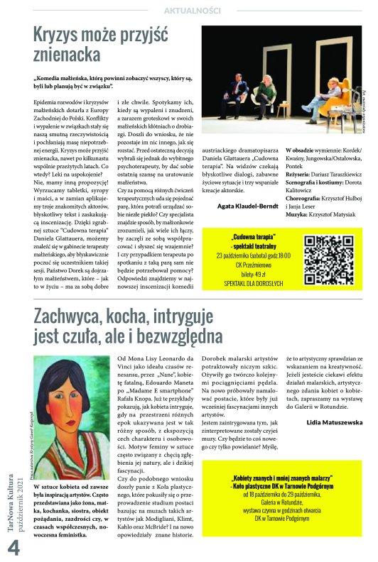TarNowa Kultura 10/2021 strona 4